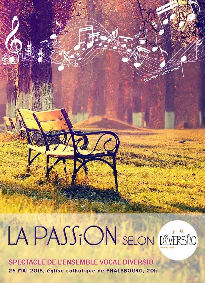 Affiche la passion selon Diversio