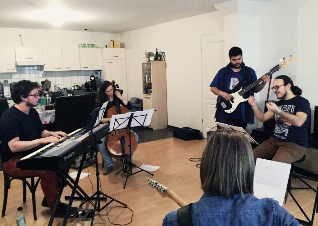 répétition musiciens diversio